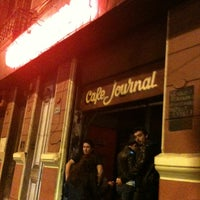 Photo taken at Café Journal by Stephania P. on 4/8/2012