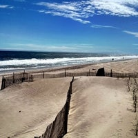 Photo taken at Fire Island Pines Beach by TonY Y. on 5/29/2012