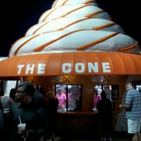 Photo taken at The Cone by Erica P. on 6/23/2012