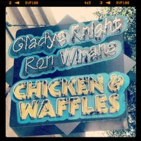 Photo taken at Gladys Knight's Signature Chicken & Waffles by William T. on 6/23/2012