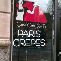 Photo taken at Good Girls Go To Paris Crepes by Jennie M. on 4/14/2012