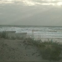 Photo taken at Lenox Beach Approach by Mary J. on 3/7/2012