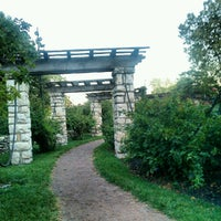 Photo taken at Loose Park by Caleb S. on 8/19/2012