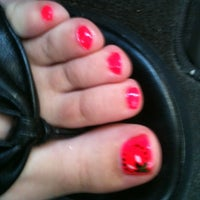 Photo taken at USA Nails & Spa by Ansleigh G. on 5/15/2012