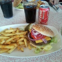 Photo taken at American diner by Jenna M. on 8/16/2012