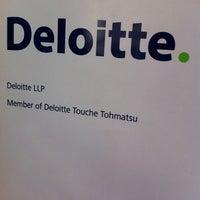 Photo taken at Deloitte by Jess N. on 2/26/2012