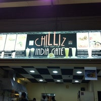Photo taken at Chilliz Of India Gate by Brad Pit M. on 3/3/2012