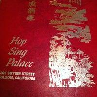 Photo taken at Hop Sing Palace by Sarah R. on 4/8/2012