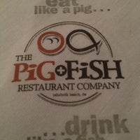 Photo taken at Pig + Fish by Nicole P. on 3/17/2012