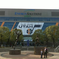 Photo taken at Vivint Smart Home Arena by Kyle A. on 4/6/2012