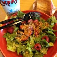 Photo taken at Café Zupas by Chelsi D. on 7/25/2012