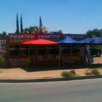 Photo taken at Bakersfield LGBTQ Fireworks Booth by Equality W. on 7/2/2012