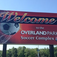 Photo taken at Overland Park Soccer Complex by Marcia D. on 5/27/2012