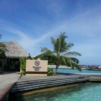 Photo taken at Sheraton Maldives Full Moon Resort & Spa by Shamym I. on 5/14/2012