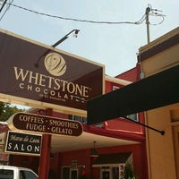 Photo taken at Whetstone Chocolate Factory by Ruth H. on 6/4/2012