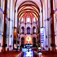 Photo taken at Saigon Notre-Dame Basilica by Patrick P. on 9/7/2012