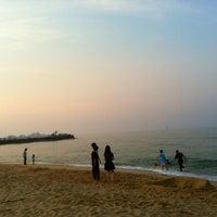 Photo taken at Sokcho Beach by U.Ran . on 5/21/2012
