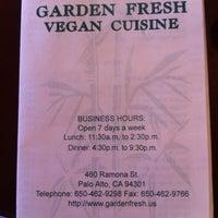 Photo taken at Garden Fresh Vegan Cuisine by Mark T. on 7/6/2012