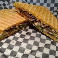 Photo taken at Chez Faye Café by Tracy L. on 5/4/2012