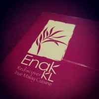 Photo taken at Enak KL by Amir Helmi on 6/7/2012