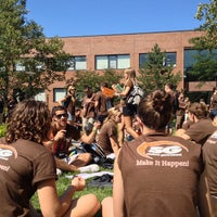 Photo taken at Rochester Institute Of Technology (RIT) by Collin H. on 8/30/2012