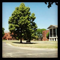 Photo taken at Benedictine University - Kindlon Hall of Learning by Rich K. on 6/12/2012