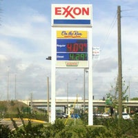 Photo taken at On The Run Exxon by Kenny B. on 3/24/2012