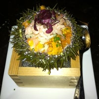 Photo taken at UNI Sashimi Bar by Heather on 3/3/2012