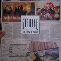 Photo taken at Giraffe Asian Food (ג'ירף) by Вероника К. on 7/4/2012