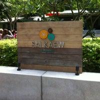 Photo taken at Sai Kaew Beach Resort by Patthanaseth N. on 5/18/2012