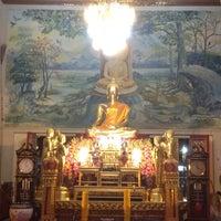 Photo taken at Wat Thep Leela by Noppadon N. on 3/7/2012