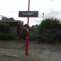 Photo taken at Stockport Railway Station (SPT) by Peter G. on 6/10/2012