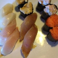 Photo taken at Sushi Delight by Tim C. on 7/3/2012