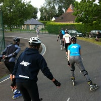 Photo taken at Skatepark Eeklo by Dieter v. on 6/11/2012