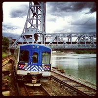 Photo taken at Metro North - Marble Hill Train Station by Trevor L. on 6/4/2012