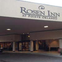 Photo taken at Rosen Inn at Pointe Orlando by Danilo M. on 8/20/2012