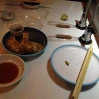 Photo taken at YO! Sushi by Anna Q. on 5/7/2012