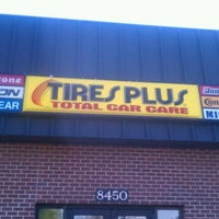 Photo taken at Tires Plus by Jeremy W. on 4/9/2012