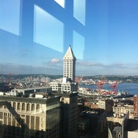 Photo taken at King County Superior Courthouse by Stefani J. on 8/1/2012