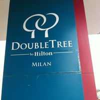 Photo taken at DoubleTree by Hilton Hotel Milan by Tham ⚽. on 2/29/2012
