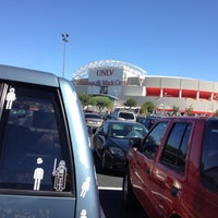 Photo taken at UNLV Parking Lot by Kary N. on 8/27/2012