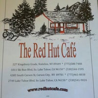 Photo taken at The Red Hut Café by Brett W. on 7/24/2012