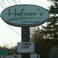 Photo taken at Hefner's Custard by Fred C. on 4/28/2012