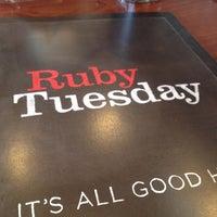Photo taken at Ruby Tuesday by Kristin W. on 4/21/2012