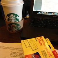Photo taken at Starbucks by Cristyn N. on 3/12/2012
