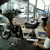 Photo taken at Balai Polis Melaka Tengah (Cawangan Trafik) by Zaini H. on 4/29/2012