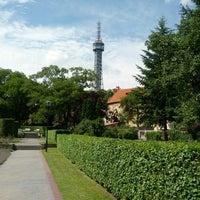Photo taken at Petřín Gardens by David V. on 6/8/2012