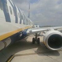 """Photo taken at Aeroporto di Roma Ciampino """"Giovan Battista Pastine"""" (CIA) by Roberto B. on 7/27/2012"""