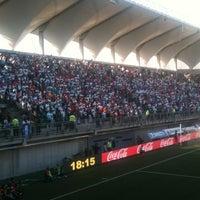 Photo taken at Estadio Bicentenario de La Florida by Pohl M. on 3/31/2012