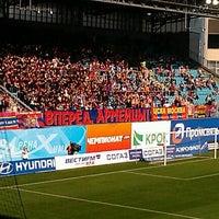 Photo taken at Arena Khimki by Metin-bey B. on 8/26/2012